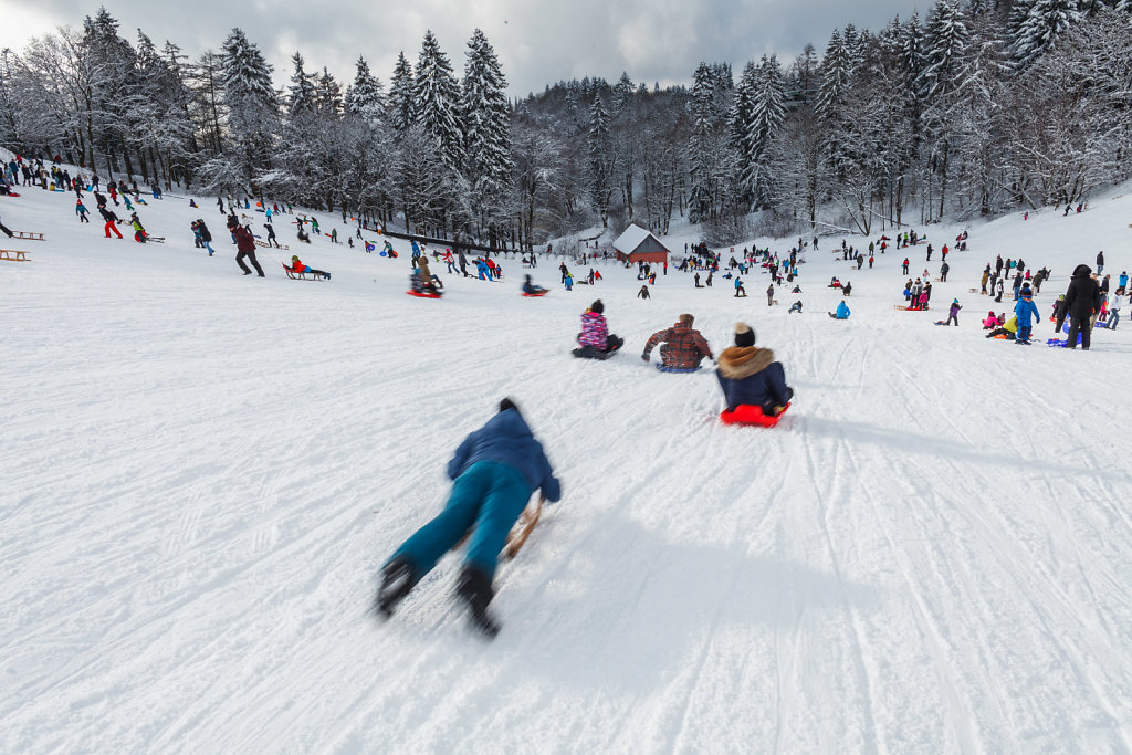 Wintersport im Harz