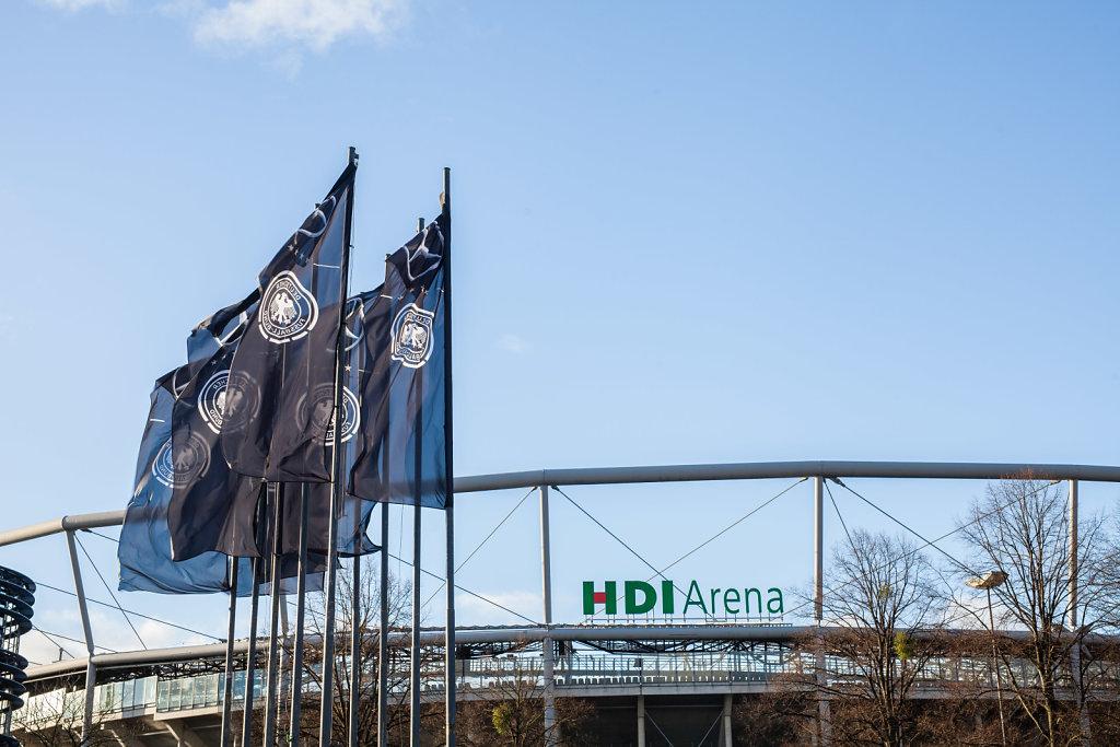Sicherheit Länderspiel Deutschland - Niederlande