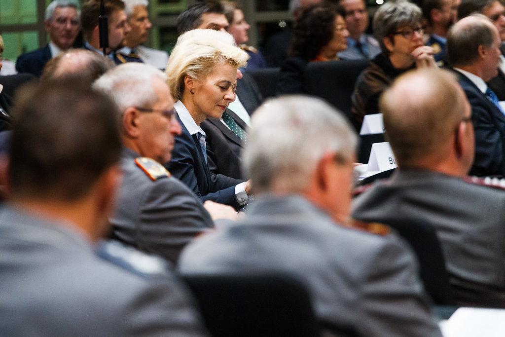 Feierstunde 60 Jahre Bundeswehr im niedersächsischen Landtag