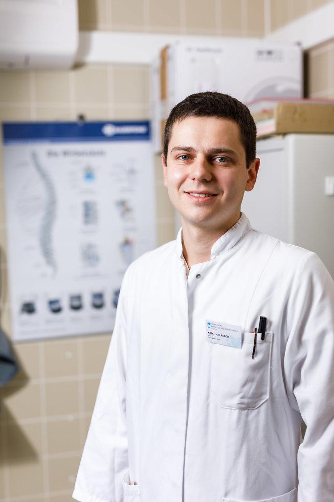Junger Ärzte aus dem Ausland