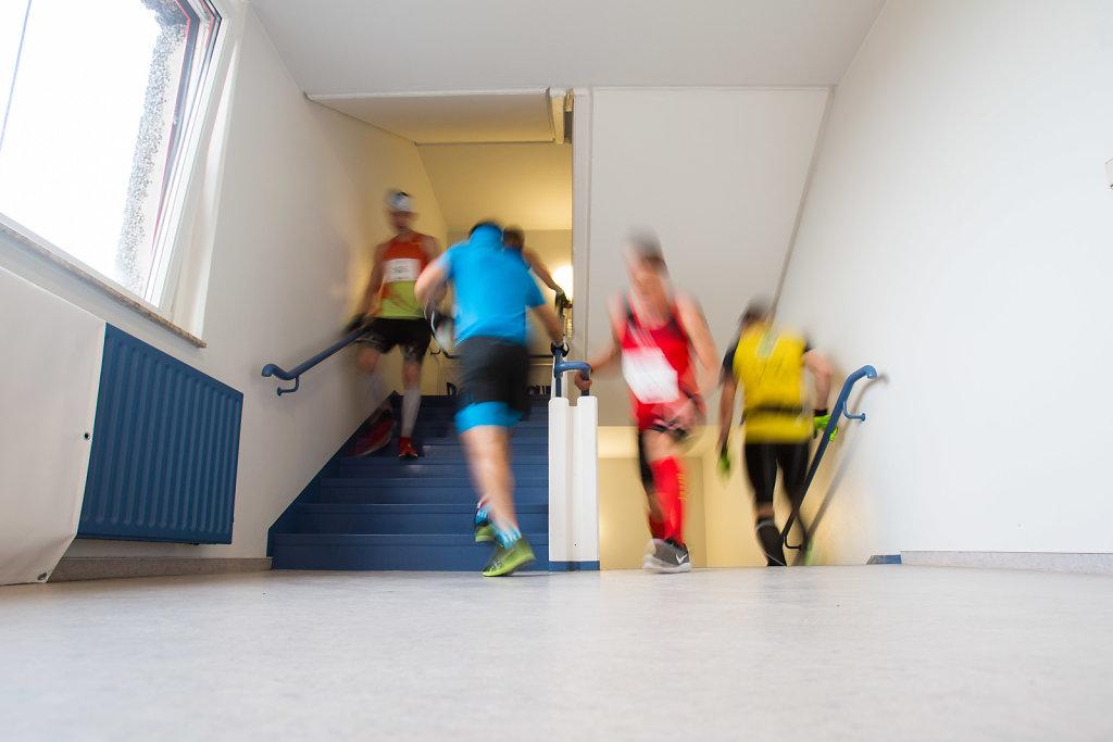 4. Verticalmarathon Weltmeisterschaft im Treppenlauf