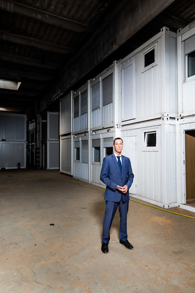 Die Stadt Kerpen verkauft überzählige Wohncontainer