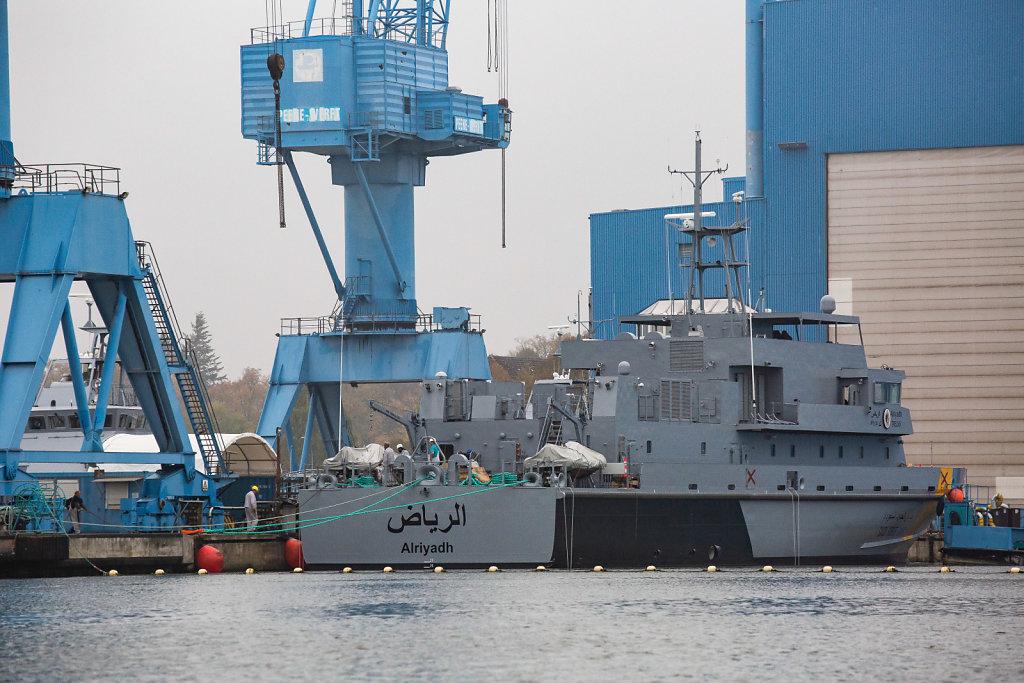 Saudische Patrouillenboote