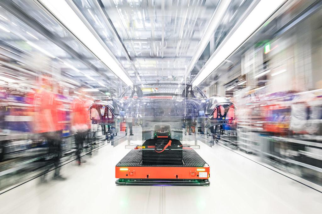 Fertigung Porsche Taycan