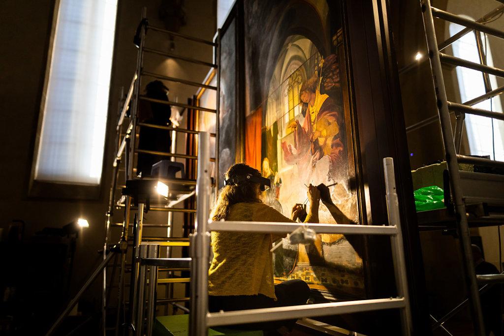 Restaurierung des Isenheimer Altars