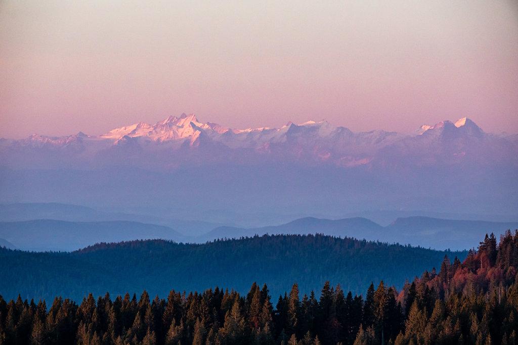 Sonnenuafgang auf dem Feldberg