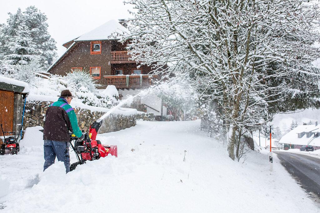 Winterwetter im Hochschwarzwald