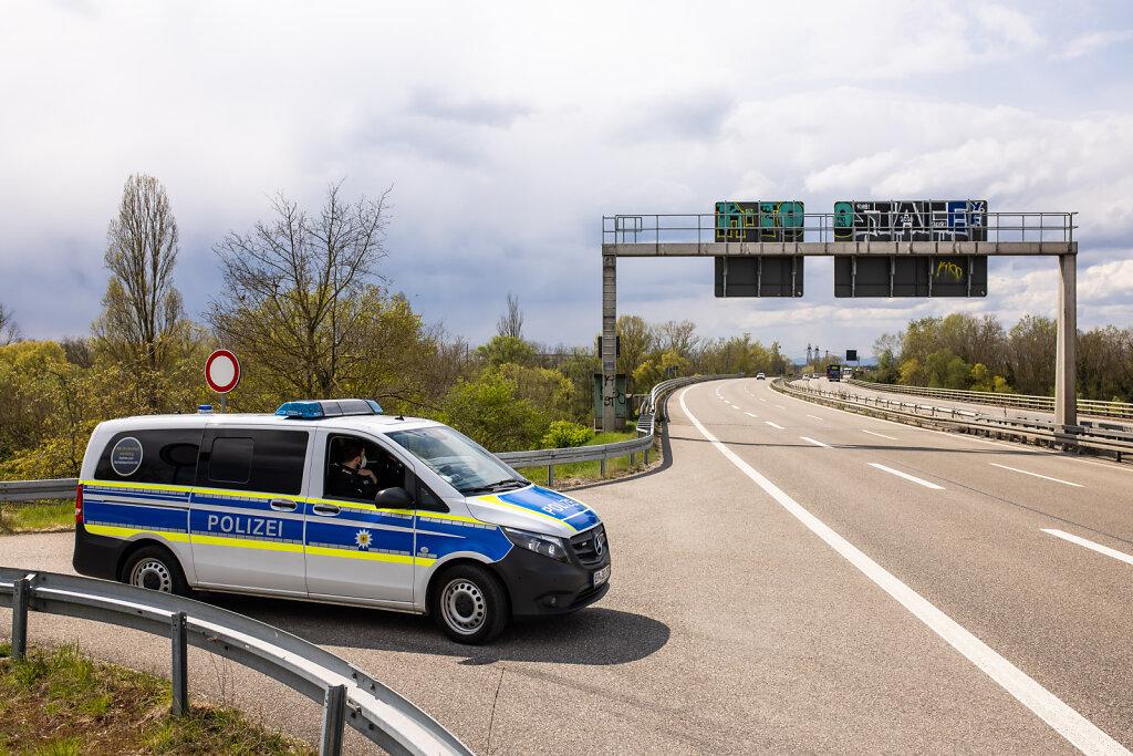 Intensivierte Schleierfahndung der Bundespolizei an den Grenzen
